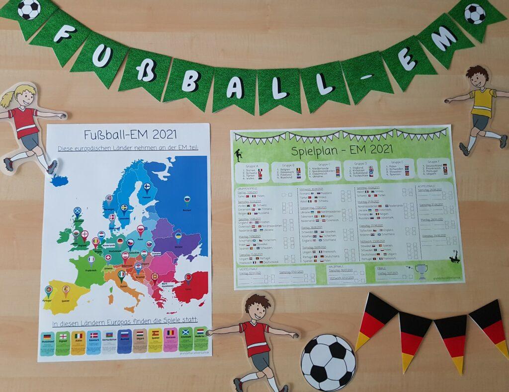 Fußball-EM in der Grundschule