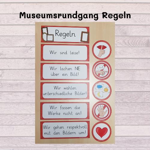 Museumsrundgang Regeln