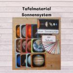 Tafelmaterial Sonnensystem