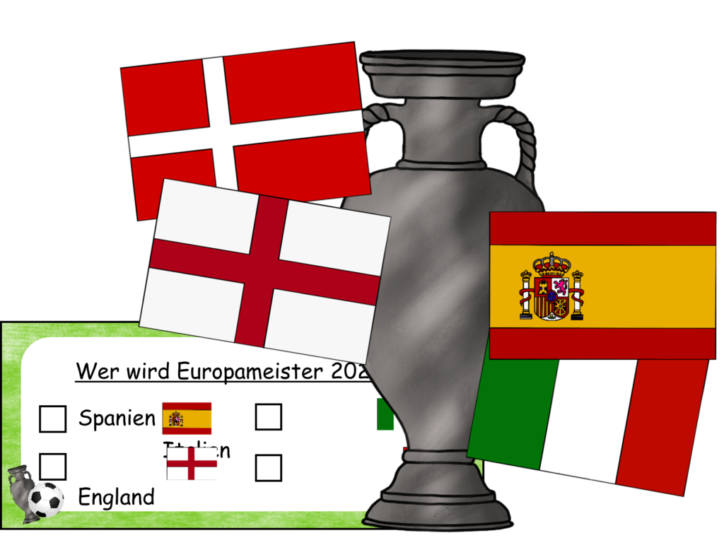 Cliparts EM 2020 Halbfinale